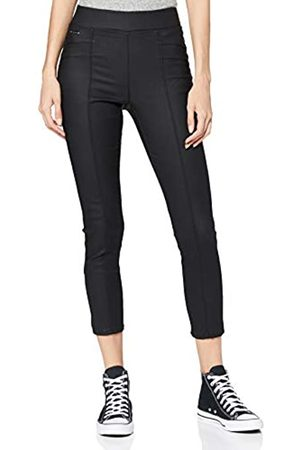 Street one Damen Slim & Skinny Hosen - Damen 373680 Style Hope Skinny Fit High Waist Coated Hose, Black