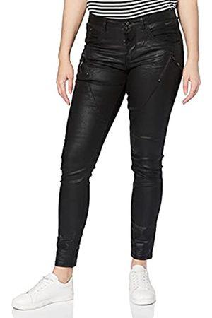 Cream Damen Coated Skinny Jeans