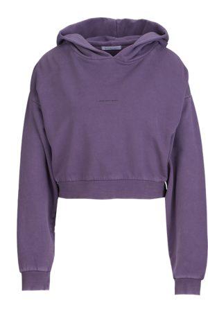 YOUNG POETS SOCIETY Damen Pullover - Damen Pullover Jola sweat cropped 214 lila (vintage city skyline)