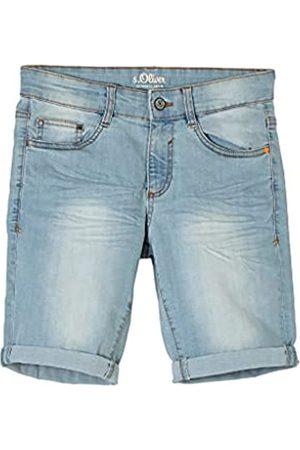 s.Oliver Jungen Straight - Jungen Regular: Bermuda aus Jeans 140.REG