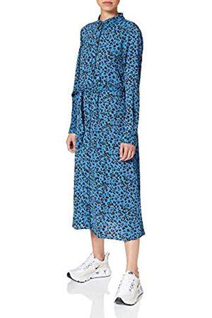 JDY Damen Freizeitkleider - Damen PIPER L/S Above Calf Dress WVN NOOS Kleid