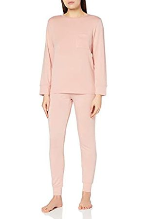 IRIS & LILLY Damen Schlafanzüge - Damen ASW-058 loungewear, Pink (Pink)