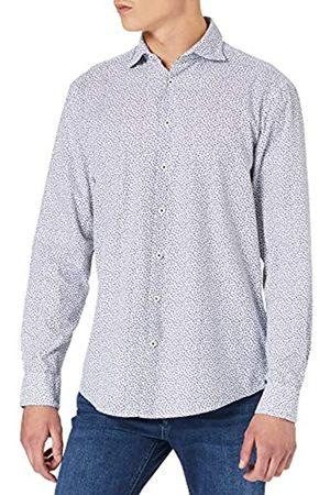 Seidensticker Herren Regular Fit Langarm Baumwolle Hemd