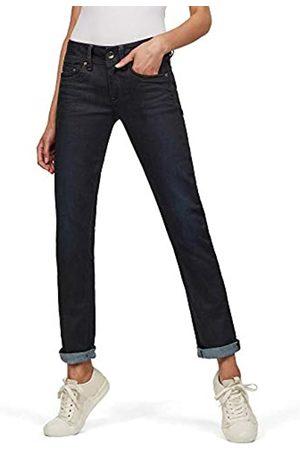 G-Star Damen Straight - Damen Jeans Midge Mid Waist Straight