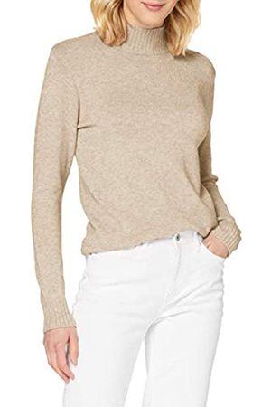 VILA Vila Damen Viril Turtleneck L/S Knit Top - Noos Pullover