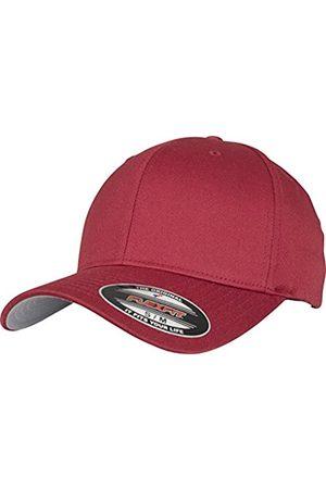 Flexfit Herren Caps - Unisex-Erwachsene Wooly Combed 6277 Mütze, Rot (rose brown)
