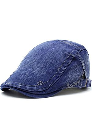 M MOACC Herren Hüte - Herren Baskenmütze Baumwolle Schnalle verstellbar Newsboy Hüte Cabbie Gatsby Cap - - Einheitsgröße