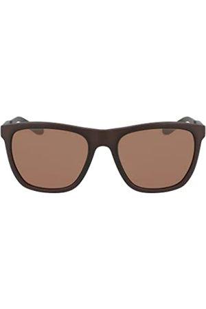 Dragon Herren Sonnenbrillen - Herren Wilder Ll Sonnenbrille, Matte Dark Brown Crystal/Luma Lens Brown
