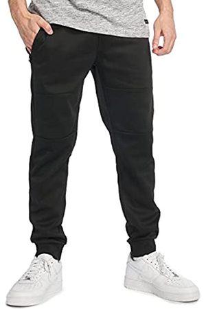 Southpole Herren Basic Tech Fleece Jogger Jogginhose, Black