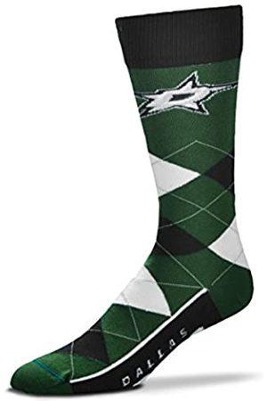 FBF For Bare Feet Herren NHL Argyle-Line-up Crew Dress Socken - Einheitsgröße passend für die meisten, Herren