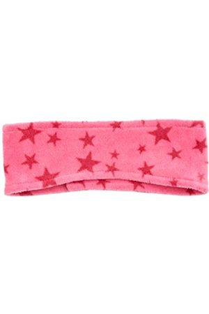 Playshoes Unisex Kinder Fleece-Stirnband Sterne, Pink