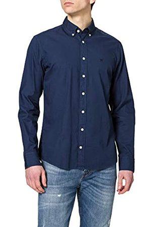 Hackett Herren Strickpullover - Hackett Mens Garment DYE Oxford Shirt