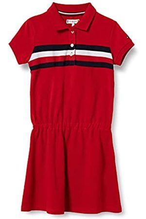Tommy Hilfiger Mädchen Pique Polo Dress S/S Kleid