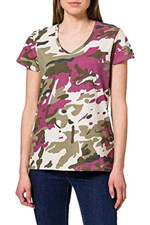 G-Star Womens Allover Print V-Neck T-Shirt