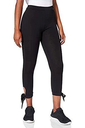 Skiny Damen Yoga & Relax Performance Midi 7/8 Sport Leggings (Black 7665)