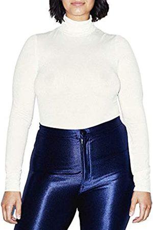 American Apparel Damen Longsleeves - Damen Mix Modal Long Sleeve Turtleneck Hemd