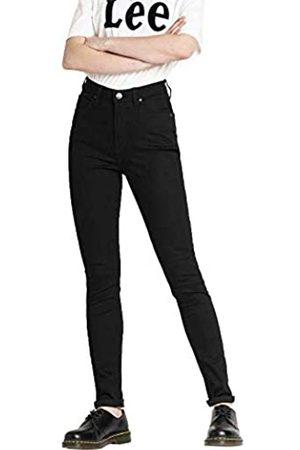 Lee Damen Ivy Skinny Jeans, Noir (Black Rinse 47)