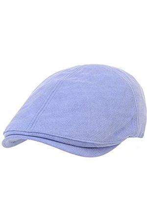 WITHMOONS Schlägermütze Golfermütze Schiebermütze Simple Newsboy Hat Flat Cap SL3026 (Blue)