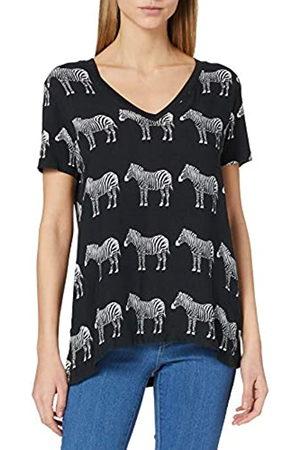 Desigual Womens TS_BOKAN T-Shirt, Black
