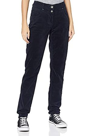 CECIL Damen 373533 Style Vicky Fit Slim Legs Velvet Hose