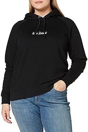 Lee Womens Hoodie Hooded Sweatshirt, Black