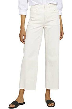 TOM TAILOR Damen Straight - Damen 1025454 Kate Straight Jeans, 10315-Whisper White