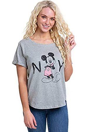 Disney Damen Mickey Mouse New York T-Shirt
