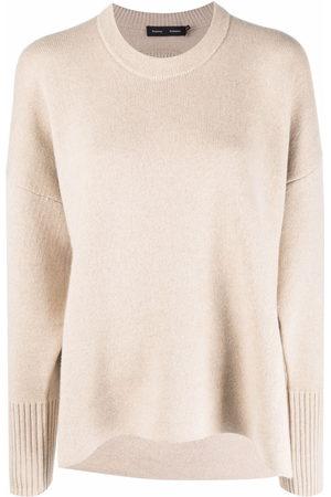 Proenza Schouler Eco Cashmere Oversized Sweater - Nude