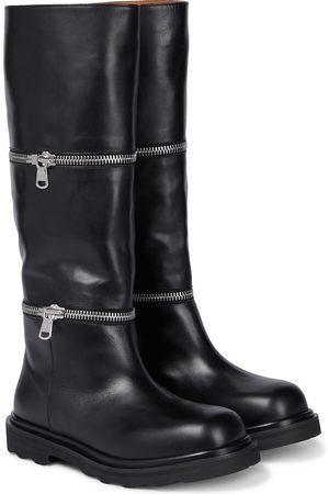 Marni Wendbare Ankle Boots aus Leder
