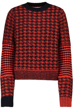 Victoria Beckham Pullover aus Wolle und Baumwolle