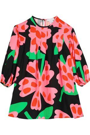 Stella McCartney Kids Bedrucktes Kleid aus Twill