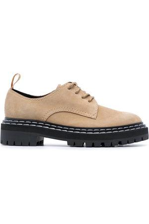 Proenza Schouler Derby-Schuhe mit breiter Sohle