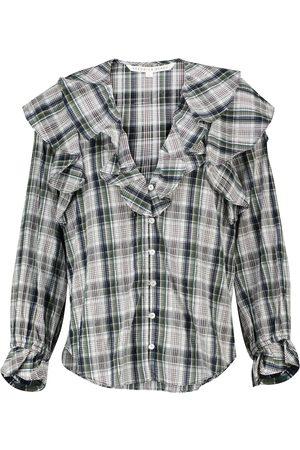 VERONICA BEARD Bluse Itha aus einem Baumwollgemisch