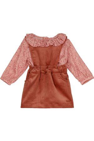 Chloé Kids Baby Set aus Bluse und Kleid