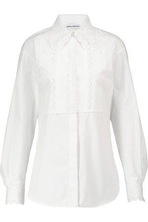 Paco Rabanne Bluse aus Baumwollpopeline
