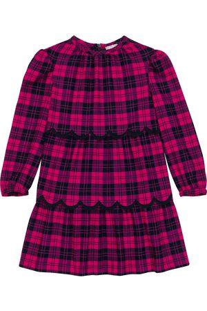 Il Gufo Kariertes Kleid