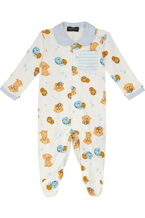 MONNALISA Baby Strampler aus Baumwolle