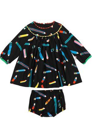 Stella McCartney Set aus bedrucktem Kleid und Höschen