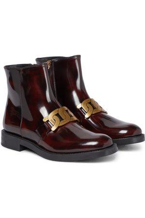 Tod's Ankle Boots Kate aus Lackleder