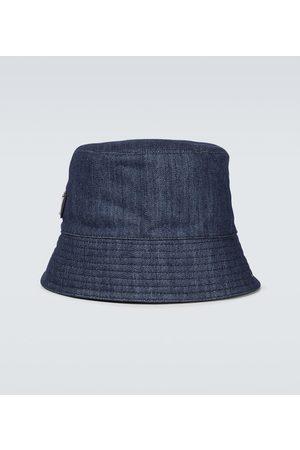 Prada Hüte - Hut aus Denim
