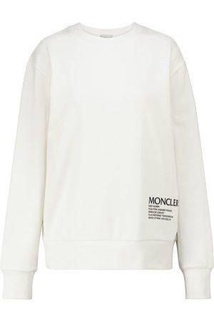 Moncler Sweatshirt aus einem Baumwollgemisch