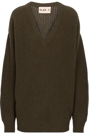 Plan C Pullover aus Kaschmir und Wolle