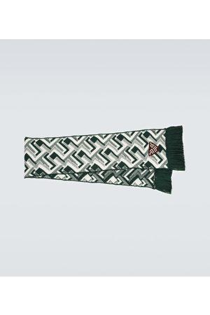 Prada Schal aus Wolle und Kaschmir-Jacquard
