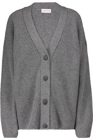 Moncler Cardigan aus Wolle und Kaschmir