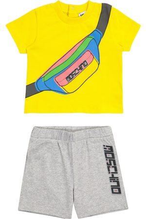 Moschino Kids Baby Set aus T-Shirt und Shorts