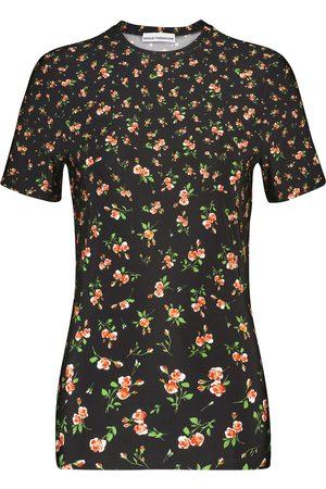 Paco Rabanne Bedrucktes T-Shirt aus Jersey