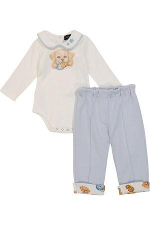 Monnalisa Baby Set aus Body und Jogginghose