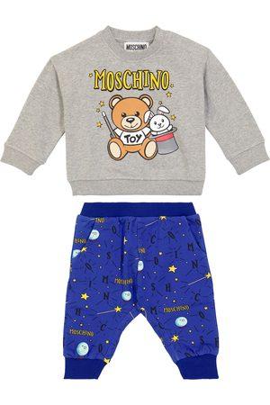 Moschino Kids Baby Set aus Sweatshirt und Jogginghose
