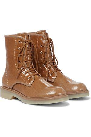 Max Mara Beschichtete Ankle Boots Beth