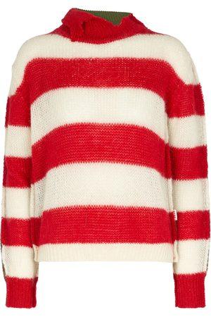 Marni Damen Strickpullover - Pullover aus Wolle und Mohair